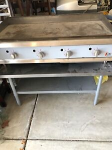 Used Commercial Restaurant Equipment Cpg 4 Flat Top Grill With Thermostat
