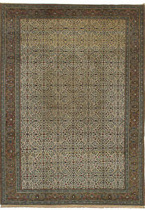 Hand Knotted Turkish 6 7 X 9 8 Keisari Vintage Wool Rug Discounted