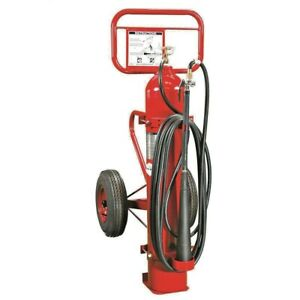 Ax333 Amerex Wheeled Co2 Fire Extinguisher 50 Lb New And Certified tagged
