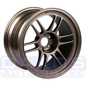 Enkei Rpf1 Wheel 18x9 5 15mm 5x114 3 Bronze Individual Rim For Evo 350z