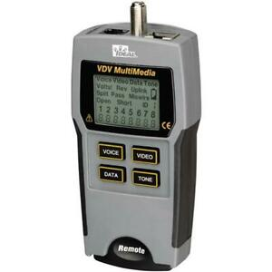 Ideal 33 856 Vdv Multimedia Voice Data And Video Tester