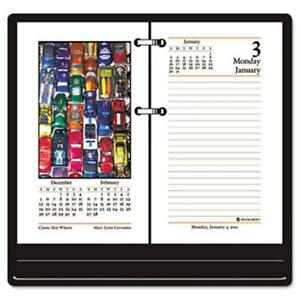 At a glance E41750 Full color Photographic Daily Calendar Refill 3 1 2w X 6