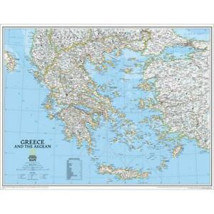 National Geographic Re00622111 Map Of Greece