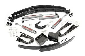 Rough Country 6 Suspension Lift Kit Chevy Gmc K20 77 87 3 4 Ton Suburban 77 91