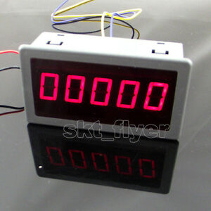 0 56 Red Led Digital Counter Timer Meter Count Three Function Dc 12 24v
