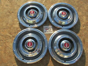 1966 Plymouth Belvedere Satellite Valiant 14 Wheel Covers Hubcaps Set Of 4