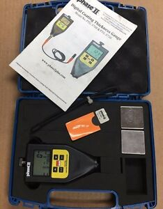 Phase Ii Ptg 3700 Coating Thickness Gauge With W Auto detect Probe