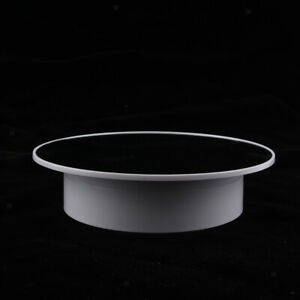 Rotating Display Stand Mirrored Display Turntable For Jewelry Watch