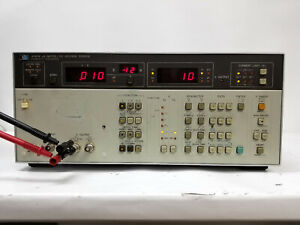Hewlett Packard 4140b Picoammeter D c Voltage Source