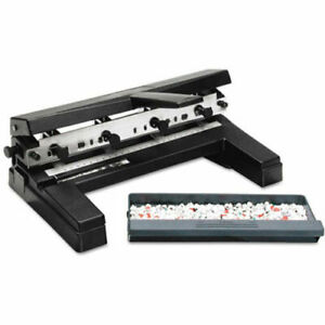 Swingline 2 4 Holes Heavy Duty Punch Adjustable Centers A4 Compatible 40 Sheets