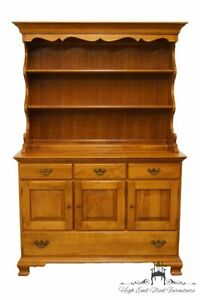 Thomasville Furniture Welsh Valley Collection Solid Cherry 50 Buffet W Open
