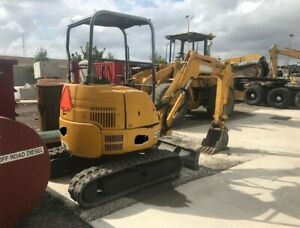 2005 John Deere 27zts Mini Excavator 6500 Lbs Size Have A Video Of The 27 zts