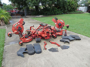 Lastec Articulator 721 Xr Rotary Mower 11 Ft Cut Tractor Wam 7 Mower Decks