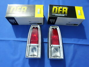 New 1966 67 Nova Chevy Ii Tail Light Assy Pair Oer 910970 Gm Licensed Parts