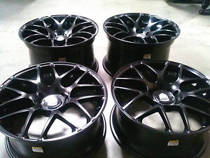 Avant Garde Ruger Mesh Black 20 Wheels Rims Porsche 911 991 981 Cayman Turbo