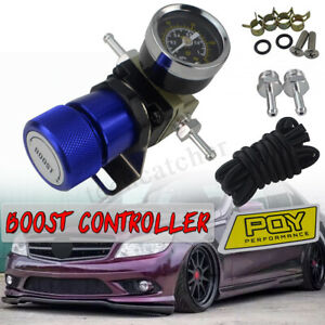 Universal Turbo Manual Boost Controller With Gauge 1 150 Psi Sr20det Sr Blue