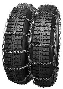 Rud V Bar Dual 8 75r16 5 Truck Tire Chains 4819cam 8cr