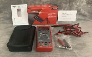 Snap on Eedm525e True rms Digital Multimeter With Color Lcd