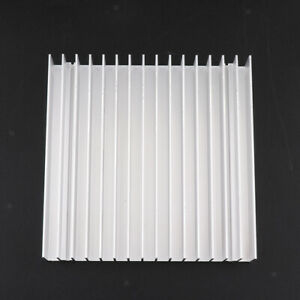 100x100x18mm Aluminum Heatsink Cooling Fin Cooler Large For Cpu Ic Led Power