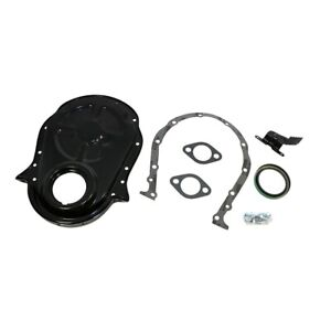 66 90 Big Block Chevy 454 Black Timing Chain Cover Kit 396 402 427 Bbc New