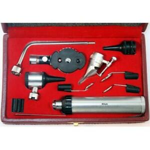 10025 Ophthalmoscope Otoscope Ent Diagnostic Set