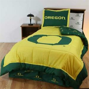 College Covers Orebbquw Oregon Bed In A Bag Queen With White Sheets