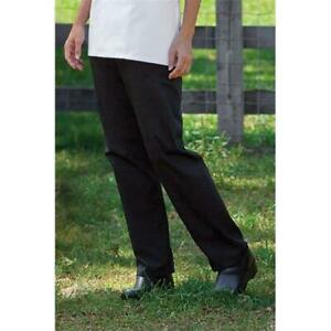 Uncommon Threads 4101 0101 Women apos s Chef Pant In Black Xsmall