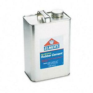 Elmers 234 Rubber Cement Repositionable 1 Gal