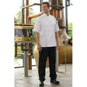 Uncommon Threads 4020 0105 Executive Chef Pant In Black Xlarge