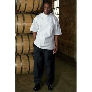 Uncommon Threads 4001 0108 Baggy Chef Pant In Black 4xlarge