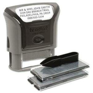 Us Stamp 5915 Self inking Do It Yourself Message Stamp 3 4 X 1 7 8