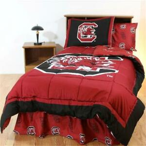 College Covers Scubbfl South Carolina Bed In A Bag Full With Team Colored Sh