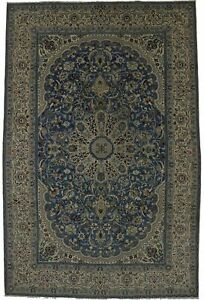 Semi Antique Classic Vintage Nain 7x11 Persian Area Rug Oriental Home Carpet