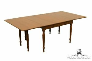 Willett Solid Elswick Cherry 85 Drop Leaf Dining Table