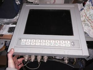 Azonix Pro Panel Azonix Mp2500sa Computer For Analyzing Oil Well Drilling Info