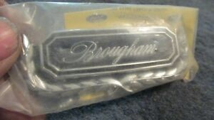 Nos 1970 1971 1972 Ford Galaxie Ltd brougham Brougham Door Panel Emblem Nos