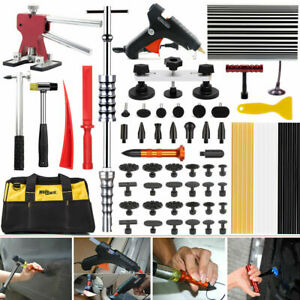 Paintless Dent Repair Puller Hail Slide Hammer Removal Line Board Glue Gun Tools