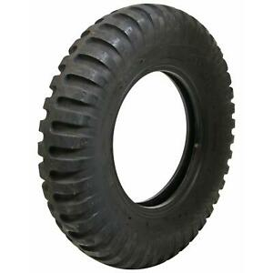 Set Of 4 Coker Firestone Military Tires 7 00 16 Bias Ply Blackwall 676467
