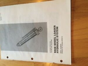 Cat 988b Wheel Loader 988 Tractor Hydraulic Service Manual Antique