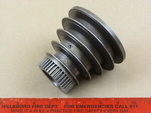 Very Nice Orig South Bend 9 10k Lathe Headstock 4 Four Step V Belt Pulley Cone