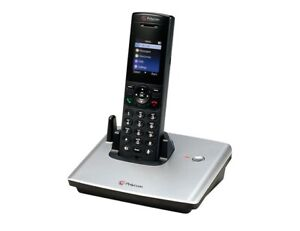 Polycom Vvx D60 Wireless Hand Set With Base Station 2200 17823 001 Po