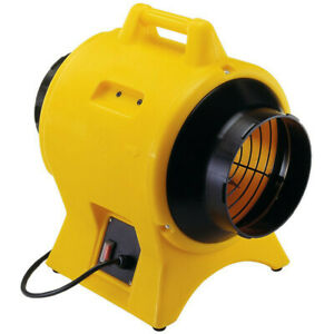 Americ 115v 8 In Light Industrial Confined Space Ventilator Vaf1500a New
