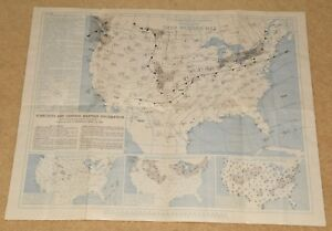 April 19 1947 Daily Weather Map North America Us Department Of Commerce