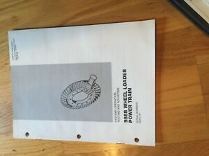Cat 988b Wheel Loader 988 Tractor Power Train Service Manual Antique 50w