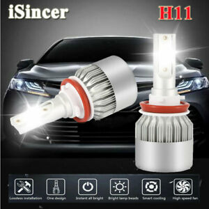 H8 H9 H11 1800w 300000lm Led Headlight Bulbs Conversion Kit 6000k High Low Beam
