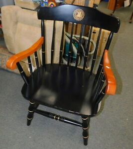 Vintage Boone Muhlenberg College Arm Desk Chair Hitchcock Hickory Stickley Style