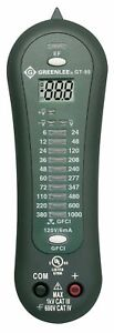 Greenlee Gt 95 Voltage Tester With Led And Gfci