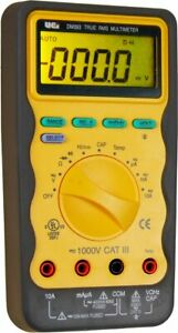 Uei Test Instruments Dm393 Auto Ranging Cat 3 Trms Digital Multimate 1000v