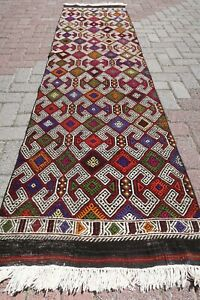 Rug Runner Vintage Turkish Hallway Kilim Rug Runner 28 3 X106 2 Runner Carpet