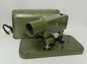 Vintage Wild Heerbrugg Leica Na2 Surveying Level Equipment Precise Level 5